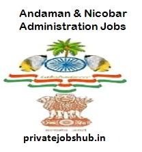 Andaman & Nicobar Administration Jobs