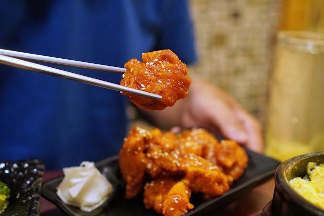 台南安平區美食【瑪西達韓式料理】辣味炸雞