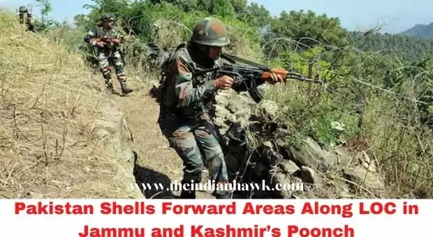 Pakistan Shells Forward Areas Along LOC in Jammu and Kashmir's Poonch