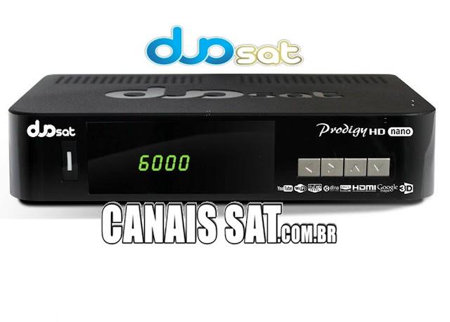 Duosat Prodigy Nano HD Atualização V13.5 - 11/06/2021
