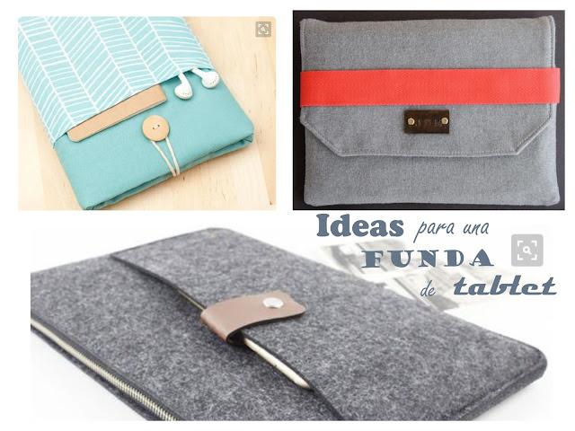 ideas para una funda de tablet