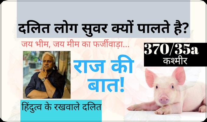 Why do Dalit societies raise pigs? | Hindi