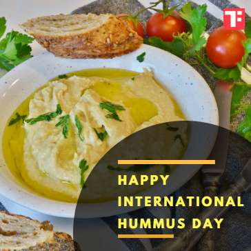 International Hummus Day Wishes For Facebook