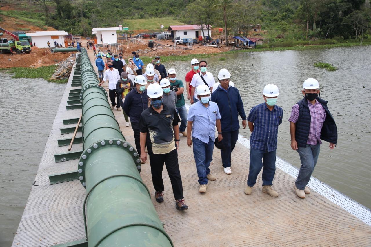 Plh. Kepala BP Batam Meninjau Proyek Pipa Transmisi Waduk Tembesi ke Waduk Muka Kuning