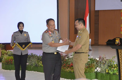 Gubernur Ridho Dorong Pembangunan kantor Polda Lampung Dimulai Tahun Ini