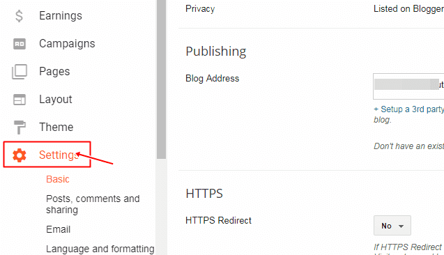 how to enable https for your blogspot blog, blogspot blog par https kaise enable kare, blogspot tutorial in hindi