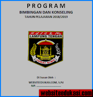 Program BK SMP/MTs Kurikulum 2013 Revisi 2018