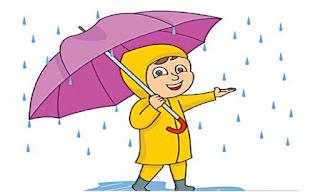 बरसात का एक दिन पर हिंदी निबंध essay on my experience on a rainy day in hindi