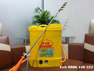 Bình điện phun muỗi, phòng dịch Sharp SP-12D