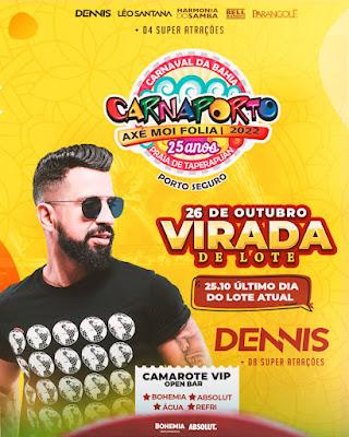 Dennis no Carnaporto 2022
