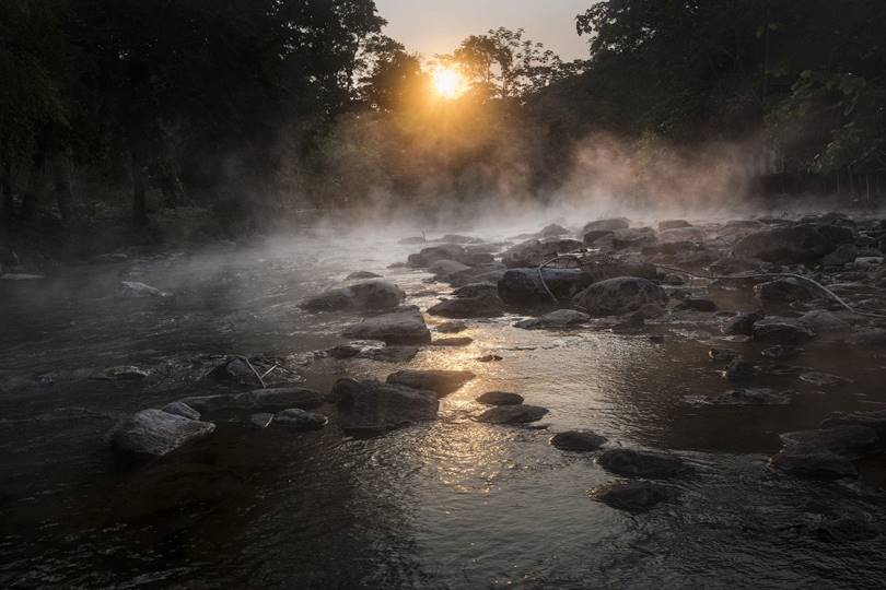 The Boiling River is a place of enormous power, inhabited by very strong jungle spirits. And the river originates from the spirit of Yakumama