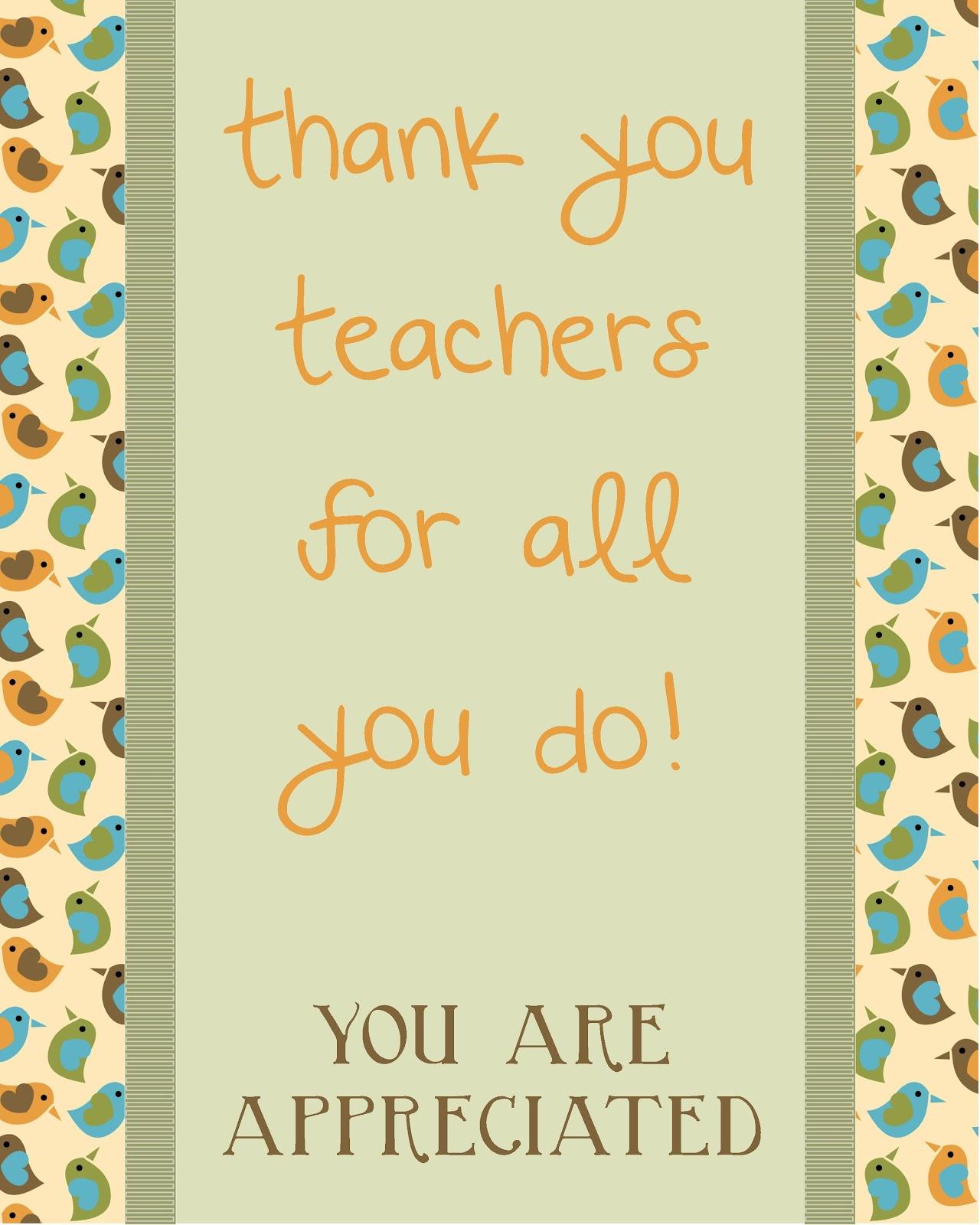Confessions Of A Projectaholic Teacher Appreciation Breakfast