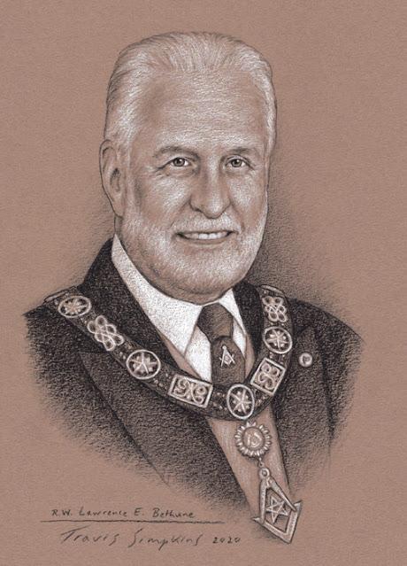 R.W. Lawrence Bethune. Past Deputy Grand Master. Grand Lodge of Massachusetts. by Travis Simpkins