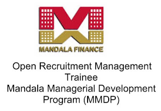 Open Recruitment Management Trainee MMDP - PT. Mandala Multifinance, Tbk