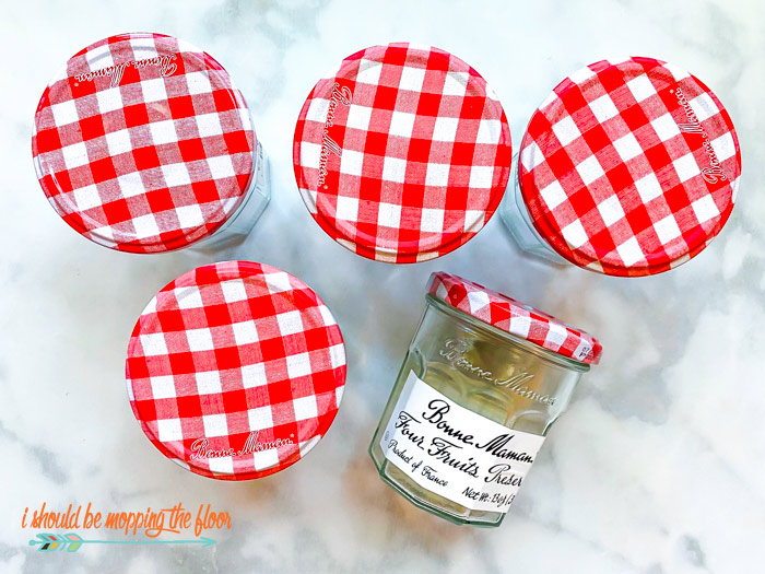 Bonne Maman Jelly Jar Ideas