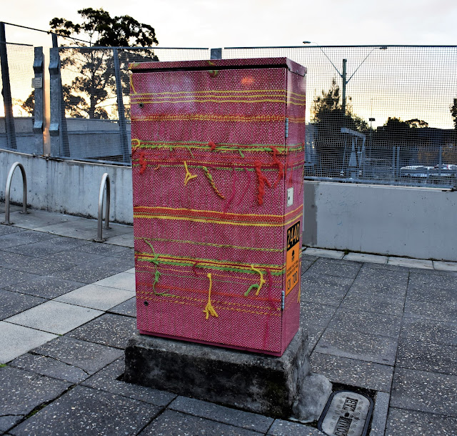 Riverwood Public Art | Signal Box by Helen Amanatiadis