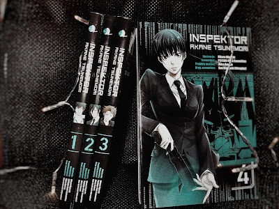 Akira Amano, Gen Urobuchi, Hikaru Miyoshi - Inspektor Akane Tsunemori t.4