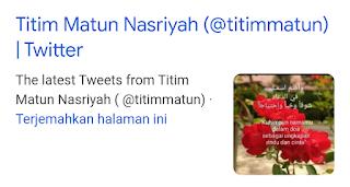 Akun Twitter @Titimmatun Ganti Nama Menjadi @JemparingLangit