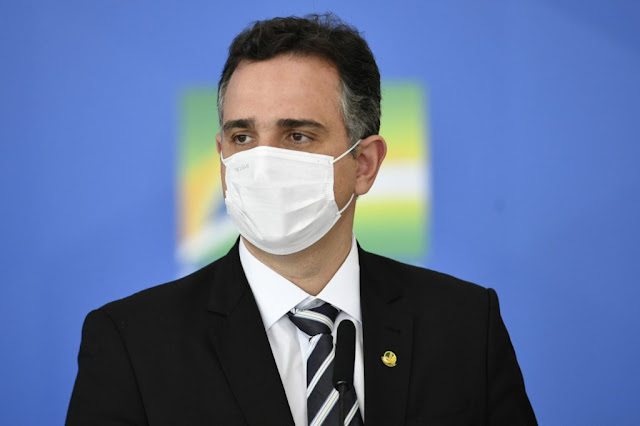 Pacheco rejeita o pedido de Bolsonaro por impeachment de Alexandre de Moraes