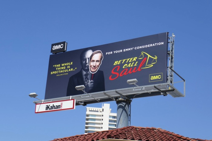 Better Call Saul 2019 Emmy FYC billboard