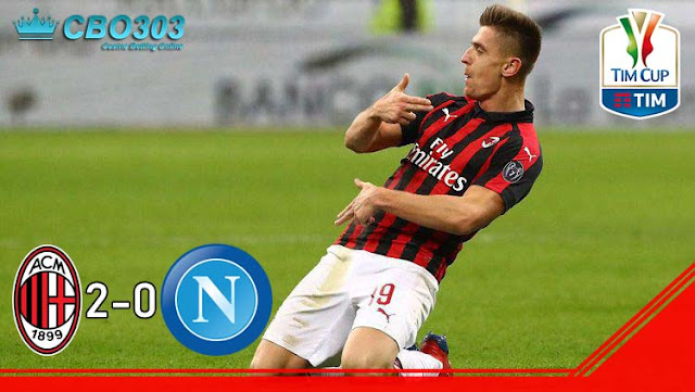 Video Highlights dan Cuplikan Gol AC Milan vs Napoli