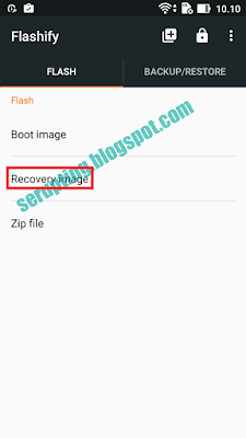 recovery asus zenfone 2 laser, recovery asus ze500kl, flashify asus zenfone 2, twrp asus ze500kl