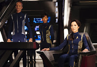 Michelle Yeoh, Sonequa Martin-Green and Doug Jones in Star Trek: Discovery (18)
