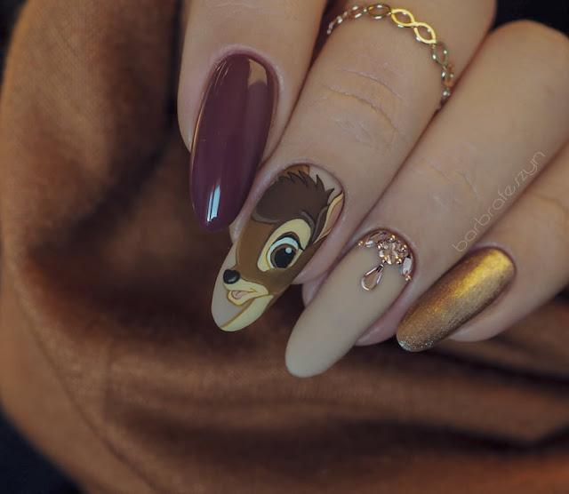 paznokcie bambi
