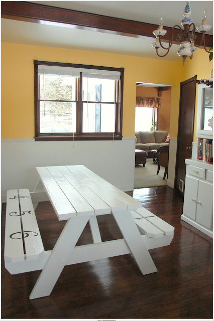 Fantastic Picnic Dining Table Gallery