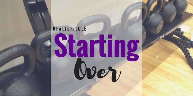 What Starting Over Looks Like When Trying to Lose Weight