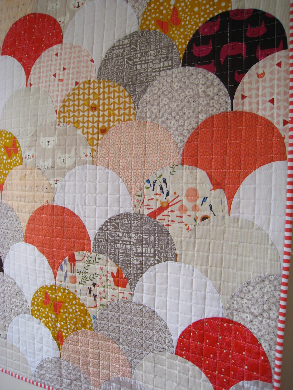 Bind Stories Stitched In Quilts Cats And Clam Shells