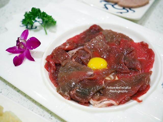 Striploin Beef Slice RM 35/180g RM 19/90g