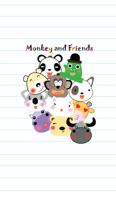 Monkey and friends