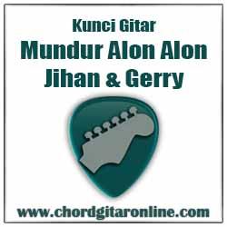 Chord Mundur Alon Alon Jihan Audy Feat. Gerry mahesa
