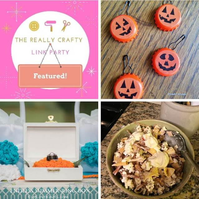 The Really Crafty Link Party #189 featured posts