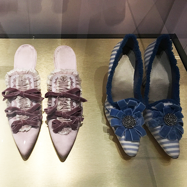 Manolo Blahnik's shoe designs for Sofia Coppola's Marie Antoinette