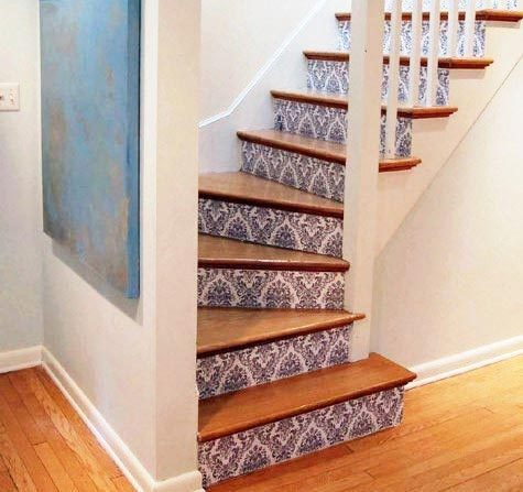Another Fun Painted Trend Is To Number Your Stairs I Love This Idea