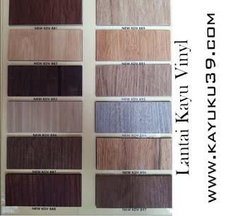 Type Lantai Kayu Vinyl