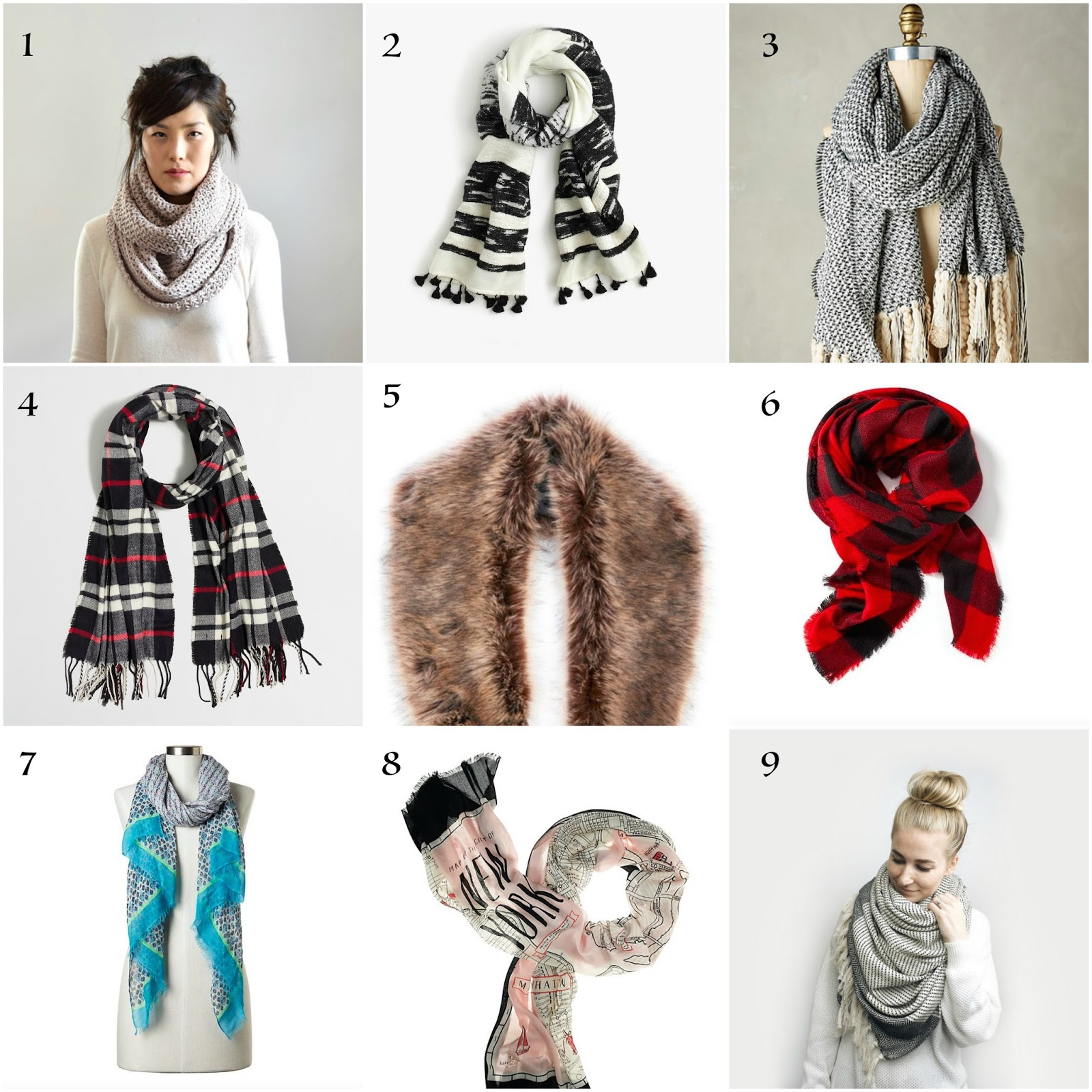 Scarves for All Types of Weather