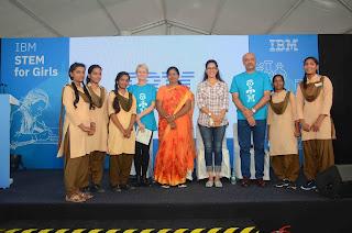 IBM Asia Pacific Leaders visit Government Girls Senior Secondary School, Amer, Jaipur in Rajasthan
