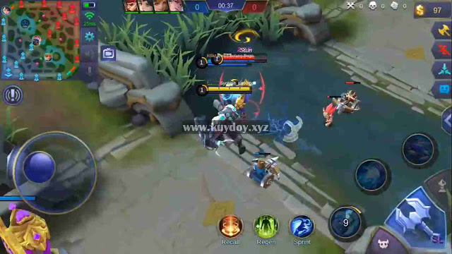 Script Musuh Auto Lag V9 + Full Damage NO Detect Patch Terbaru