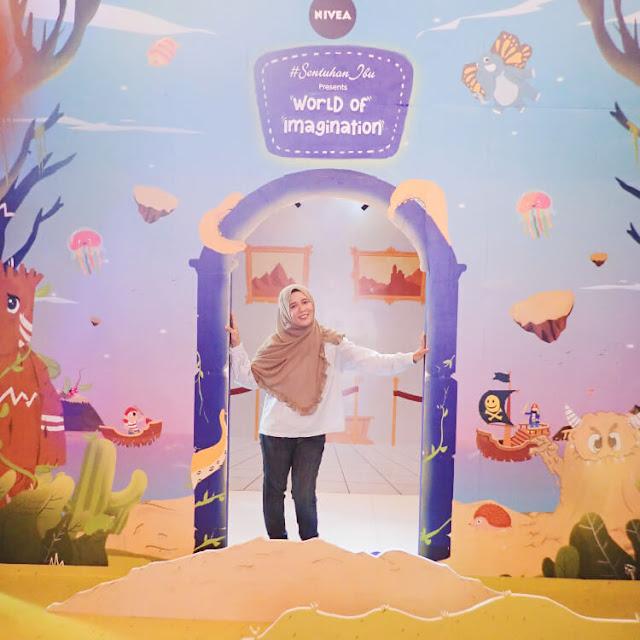 nivea #sentuhanibu 2019, world of imagination, manfaat mendongeng untuk anak