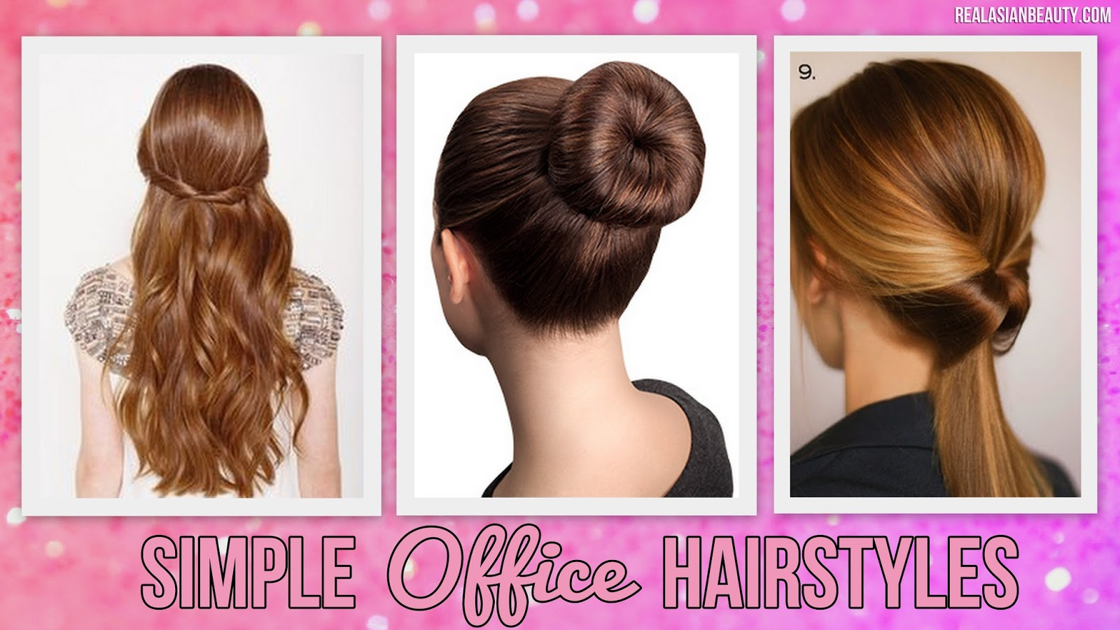 Easy Hairstyle For Daily Office : Real asian beauty easy office hairstyles for on the go