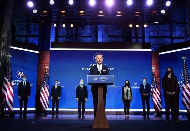 (លោក ចូ បៃឌិន) ប្រធានាធិបតីថ្មី នៃសហរដ្ឋអាមេរិក បាននិយាយថា>... (Joe Biden) The new President of the United States said ...
