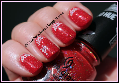 China Glaze ~ Living in the Elmo-ment