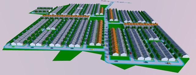 Ilustrasi Site Plan