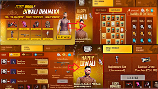 PUBG mobile Diwali Dhamaka event coming with lots of gifts and rewards