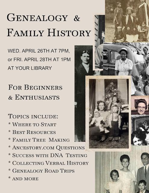 Genealogy & Family History Class
