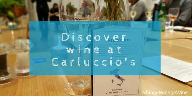 Discover wine at Carluccio's Wine Explorers showcase