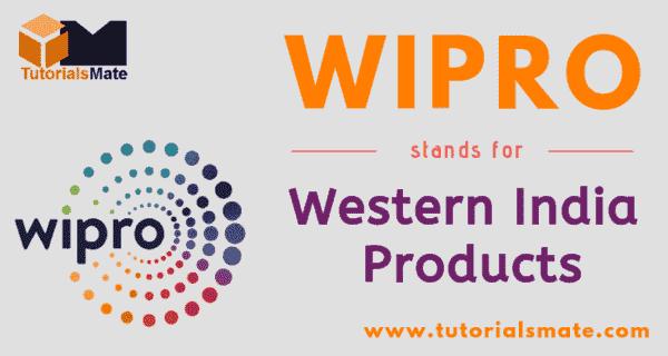 WIPRO Full Form